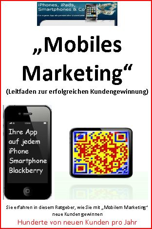 "Ratgeber ""Mobiles Marketing"""